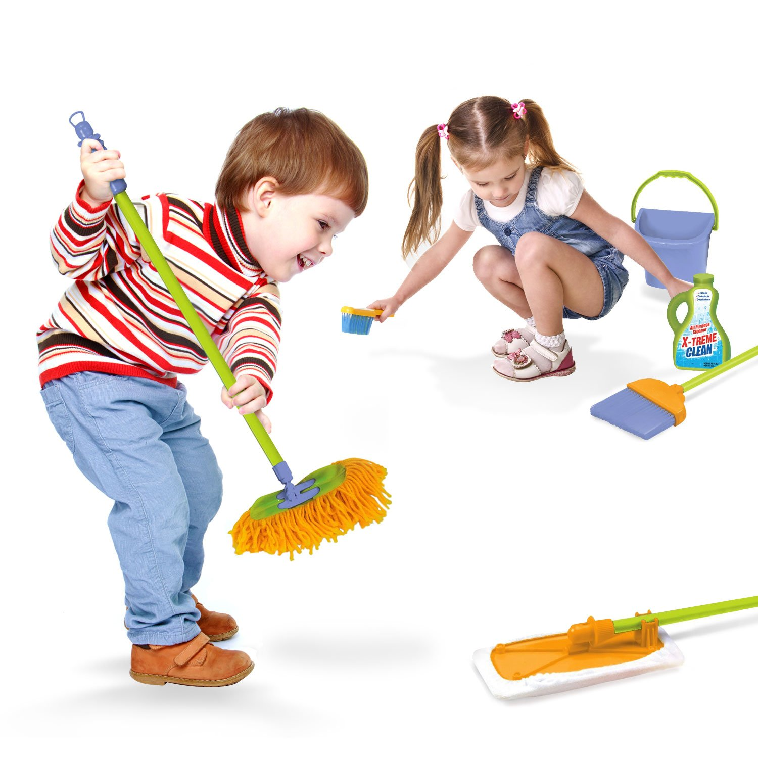 children cleaning - photo #4
