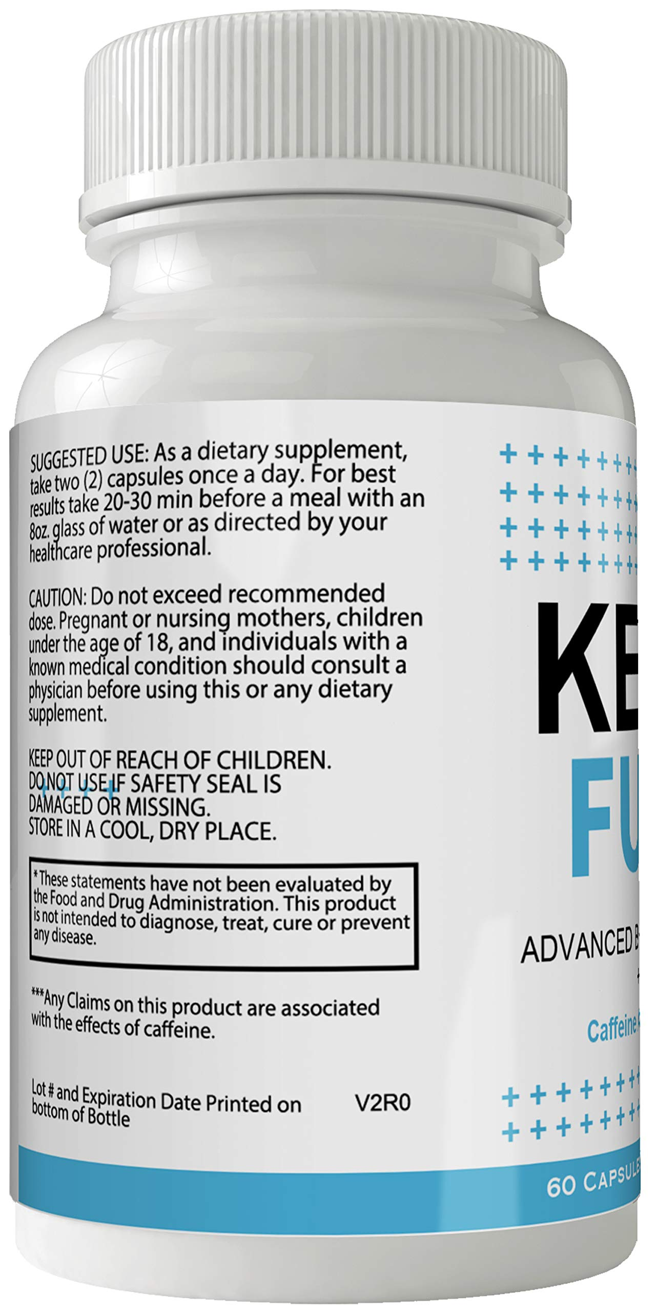 Keto Fuel Weight Loss Pills Advance Weight Loss Supplement Appetite Suppressant Natural Ketogenic 800 mg Formula with BHB Salts Ketone Diet Capsules to Boost Metabolism, Energy and Focus by nutra4health LLC (Image #3)