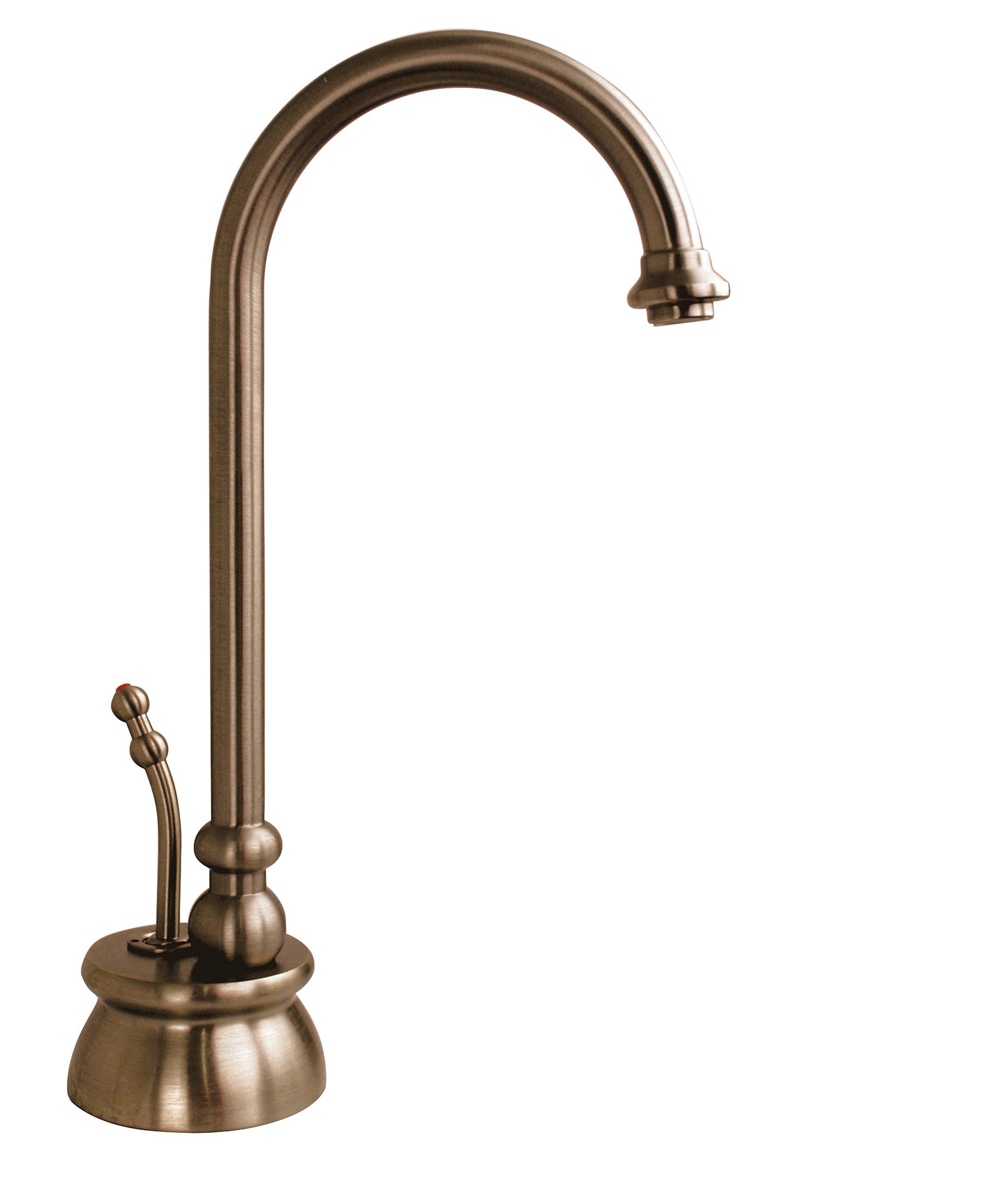 Westbrass D261-11 Single Handle Instant Hot Water Dispenser Faucet Only, Antique Copper