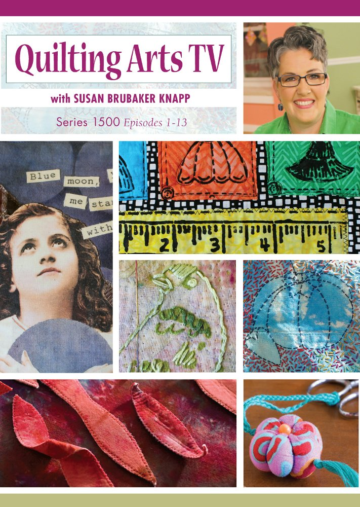 Amazon Com Quilting Arts Tv Series 1500 Susan Brubaker