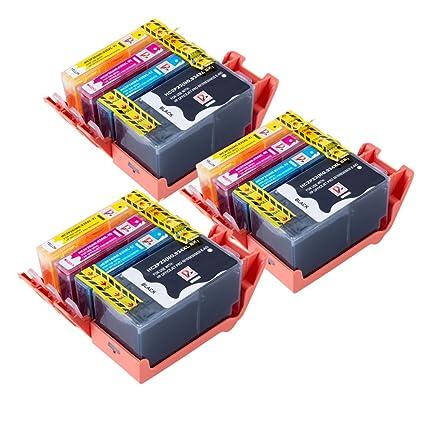 12 Cartuchos de Tinta Compatibles con sustituir la 934 XL 935XL ...