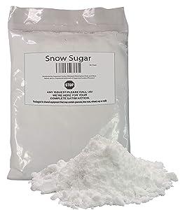 Naturejam Sweet Snow Sugar 1 Pound Bulk Bag for Doughnuts and Pastries-Origin: Germany