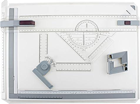 Tablero de dibujo técnico de tamaño A3 para arquitectos, barra de ...