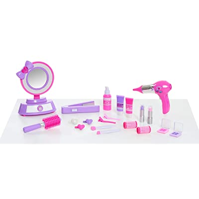 Sweet Fairytales Play Make Up & Stylist Set- Brown Mailer: Toys & Games