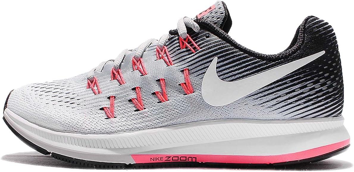 Nike 831356, Zapatillas para Mujer, (Wolf Grey/White/Black/Hot Punch), 36 EU: Amazon.es: Zapatos y complementos