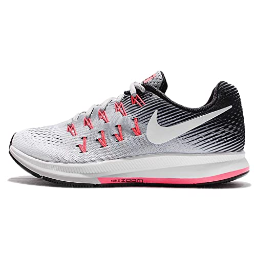 new products 493b1 8d72b Nike Air Zoom Pegasus 33 Wolf Grey/White/Black/Hot Punch Women's Running  Shoes: Amazon.ca: Shoes & Handbags