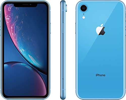 Apple iPhone XR, 128GB, Blue - For Verizon (Renewed)