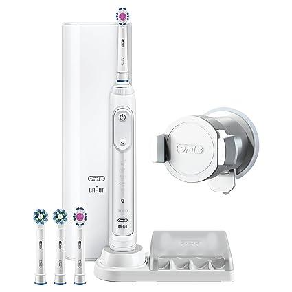 Oral-B Genius 9200W 3DWhite Adulto Blanco - Cepillo de dientes eléctrico (Batería,
