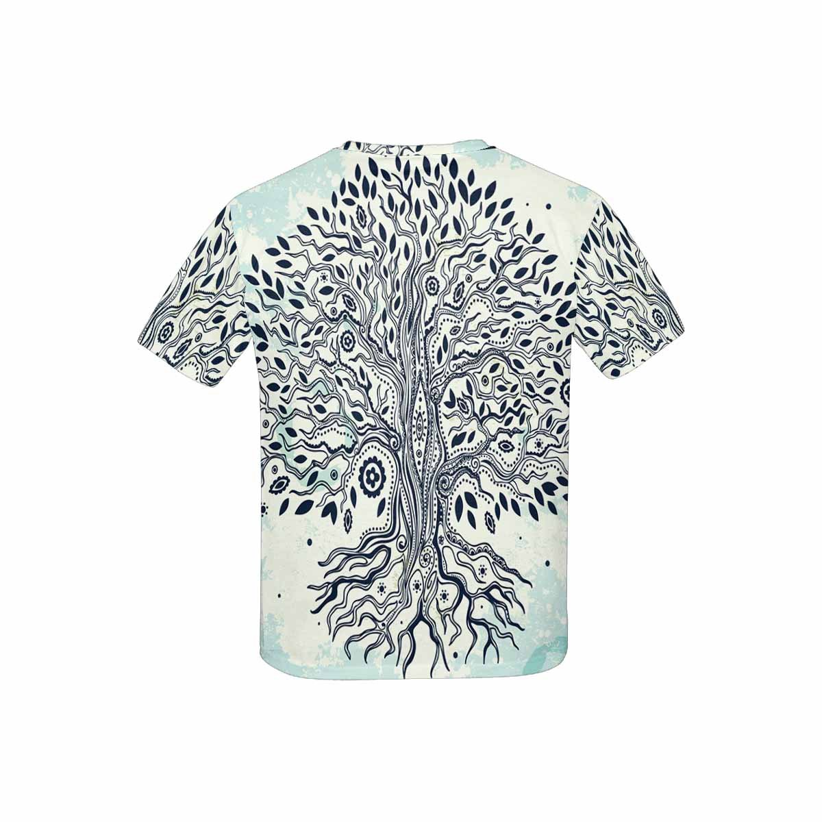 INTERESTPRINT Youth T-Shirts Vintage Tree of Life XS-XL