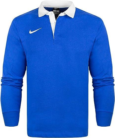 Nike para Hombre Logotipo Bordado – Camiseta Polo de Manga Larga ...