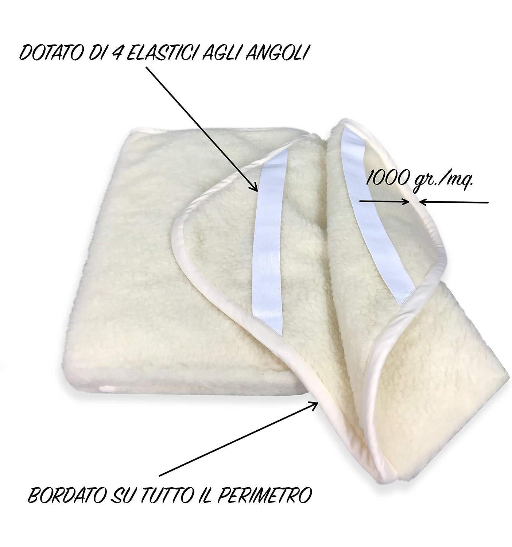 tex family cubrecolchón Mary de auténtica Lana Merina G. - 2 plazas: Amazon.es: Hogar