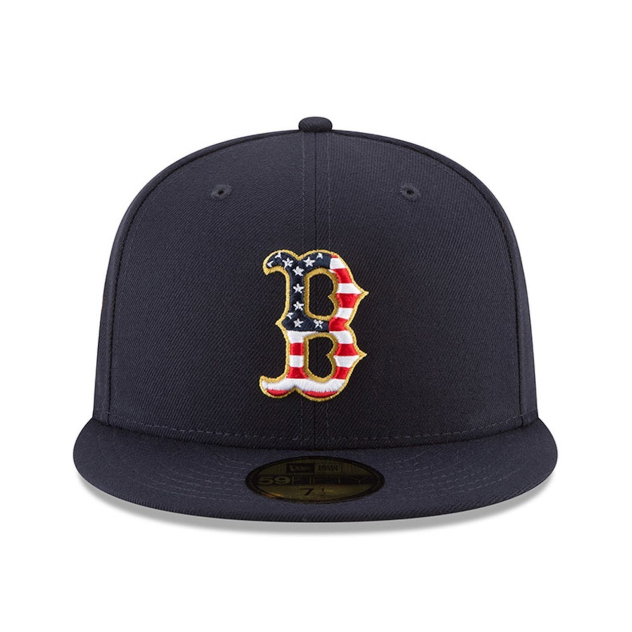 newest 46e15 6855c ... reduced amazon new era boston red sox 2018 july 4th stars and stripes  59fifty on field