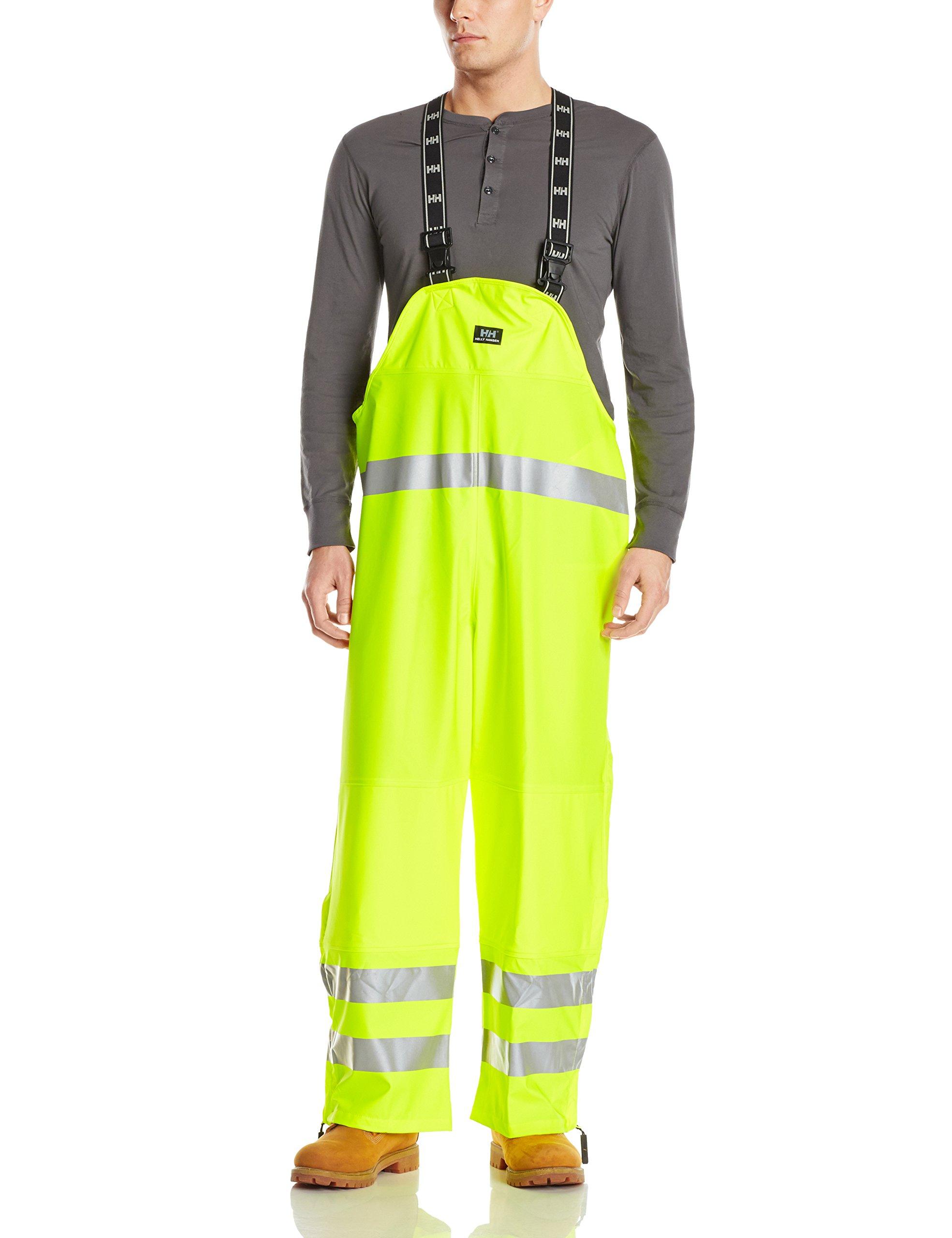 Helly Hansen Workwear Narvik Hi-Visabilty Bib Pant, En471 Yellow, 2XL