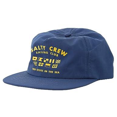 Amazon.com  Salty Crew Men s Yacht Club 5 Panel Hat e651624b21a
