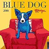 Blue Dog 2018 Wall Calendar