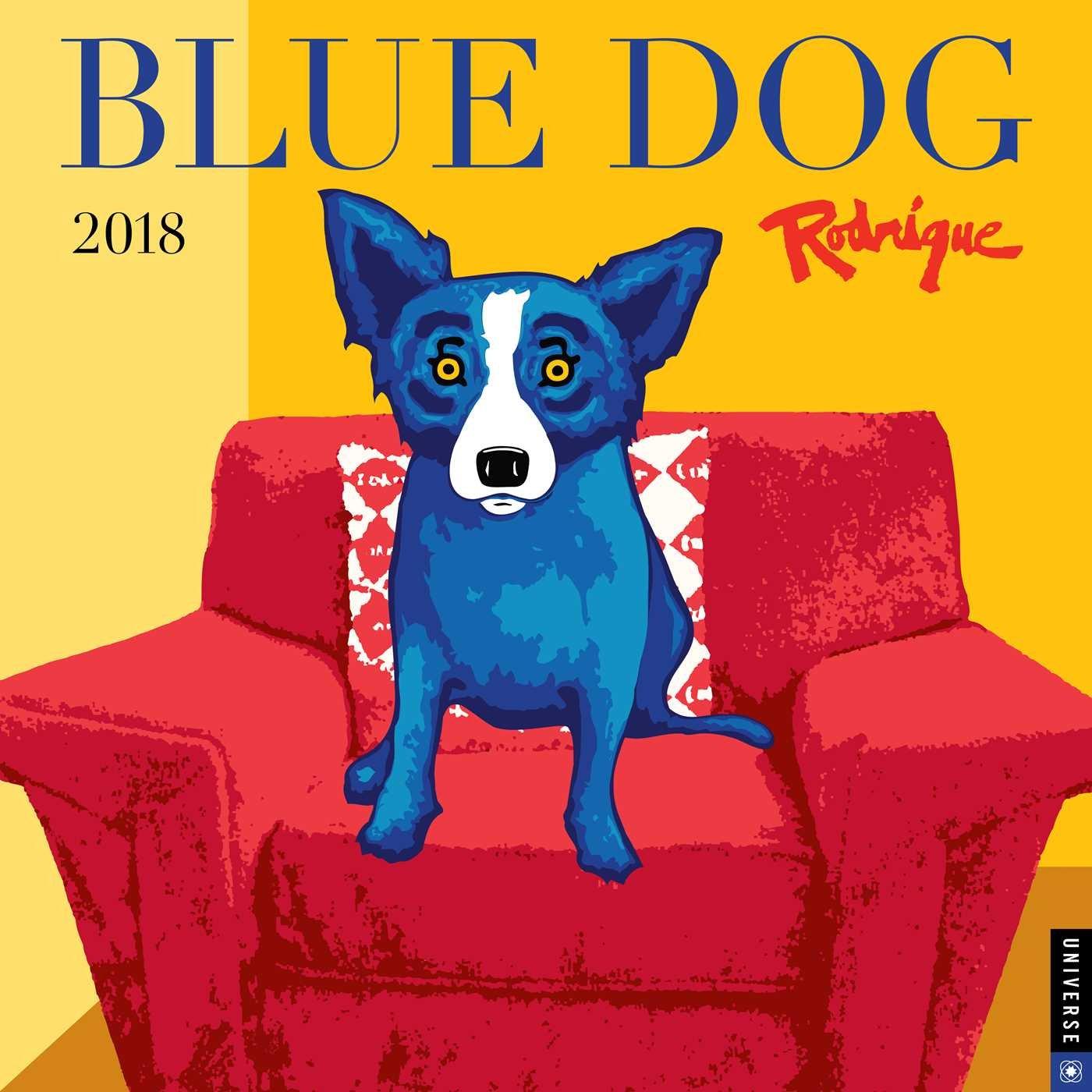 Blue Dog 2018 Wall Calendar: George Rodrigue: 9780789333216: Amazon.com:  Books