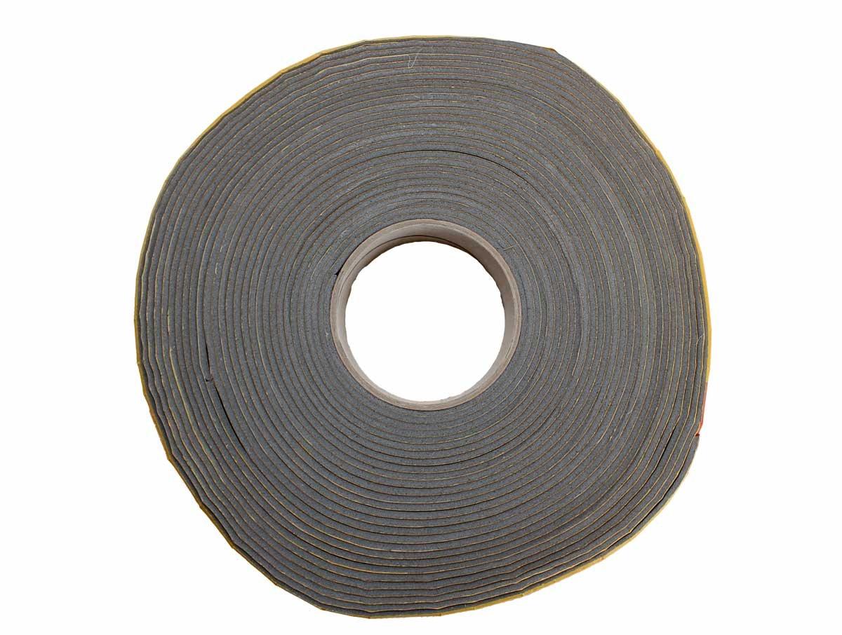 Kautschuk Band/Tape selbstklebend Wickelband fü r Kautschuk Rohrisolierung 15m Rolle grau NMC