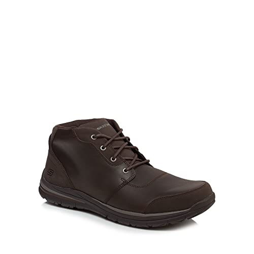 Para Color One Hombre Marrón Size Botas Skechers 5fzq7vf