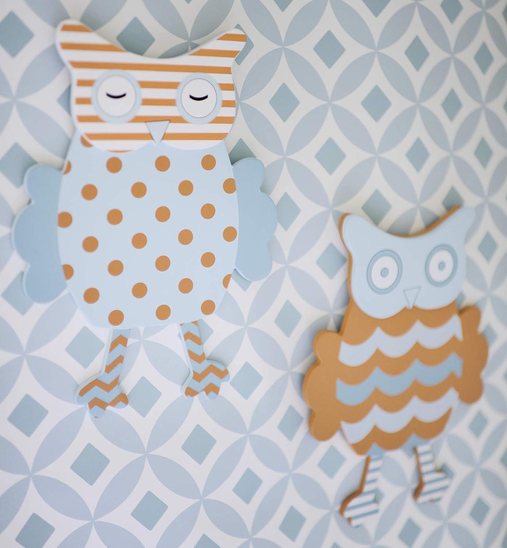 My Baby Sam Penny Lane Wall Art, Orange/Aqua