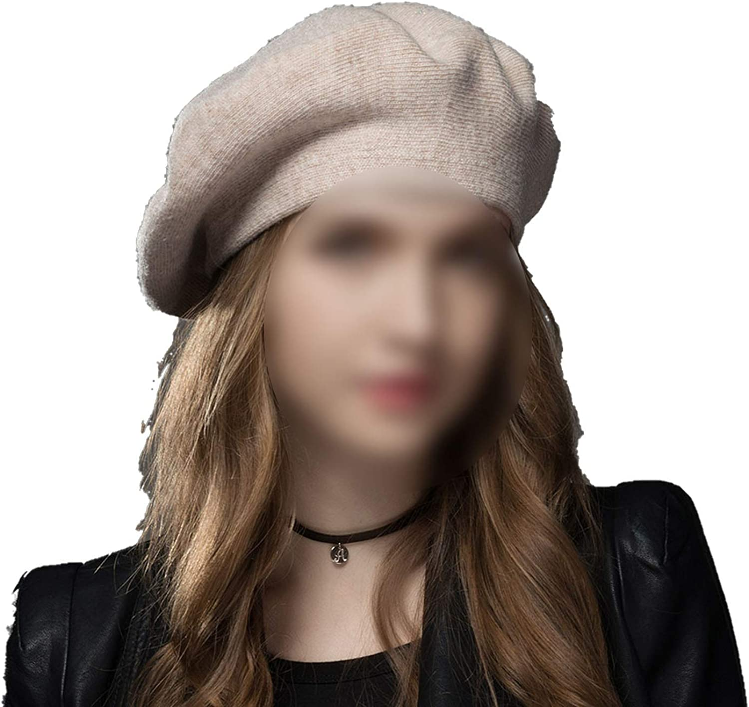 Dami-shop High end Winter Hat Berets 2018 New Wool Cashmere Womens Warm Brand Casual Hats for Girls Cap