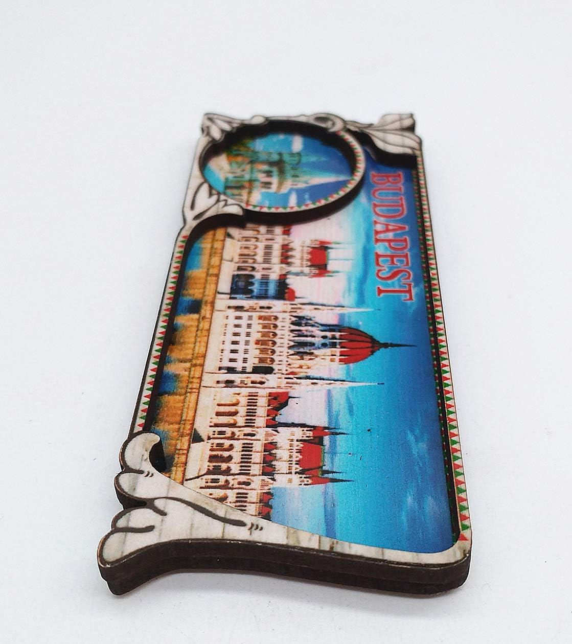 MUYU Magnet Budapest Hungr/ía 3D im/án de Nevera de Viaje Souvenir colecci/ón de Regalo hogar y Cocina decoraci/ón magn/ética calcoman/ía Budapest im/án de Nevera