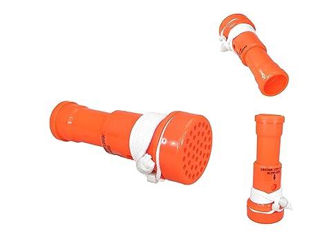 Pactrade Marina Barco Bocina Blaster Naranja ABS Plástico Flotador 115DB Loudness