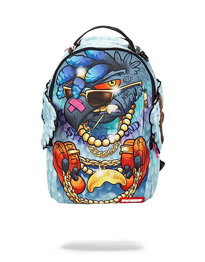 SPRAYGROUND BACKPACK PIGEONS IN THE HOOD
