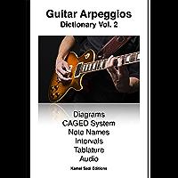 Guitar Arpeggios Dictionary Vol. 2 (English Edition)