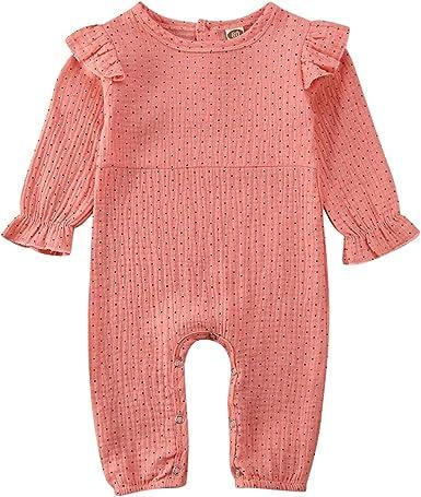 US Newborn Kids Baby Girl Clothes Cotton/&Linen Romper Jumpsuit Bodysuit Outfits