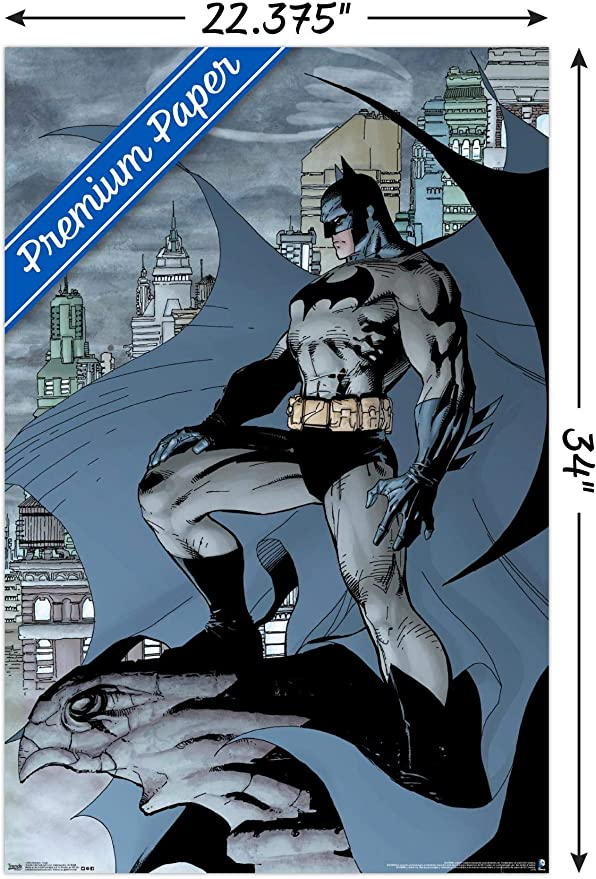 4 Color Decal Batman Trends International Justice League