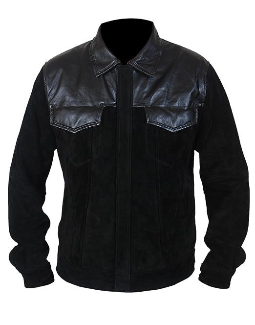 Leatherly Chaqueta de hombre Fast And Furious 6 Premier Vin Diesel Sintético Cuero Chaqueta- 5XL: Amazon.es: Ropa y accesorios
