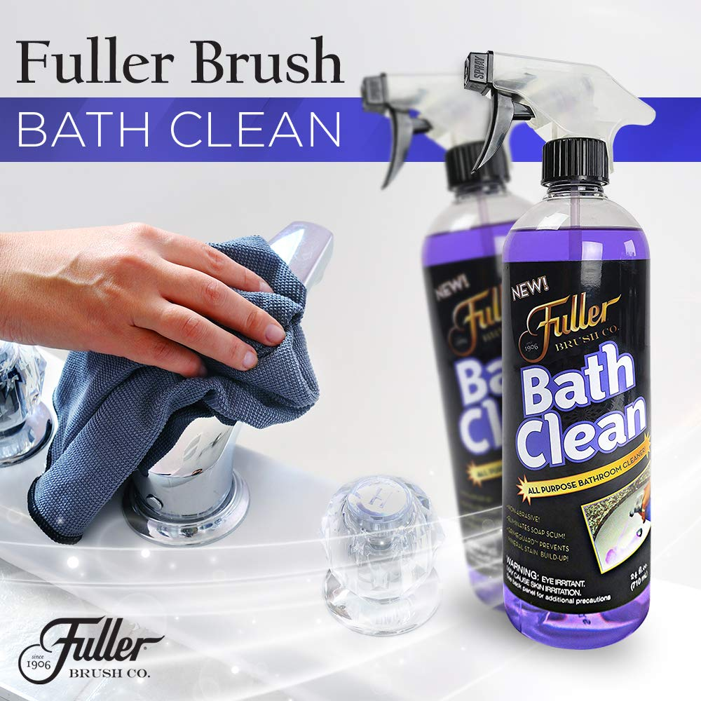 Fuller Brush Bath Clean - Dissolves Tough Soap Scum & Hard Water Stains - Contains Grimegaurd - 24 oz by Fuller Brush (Image #2)