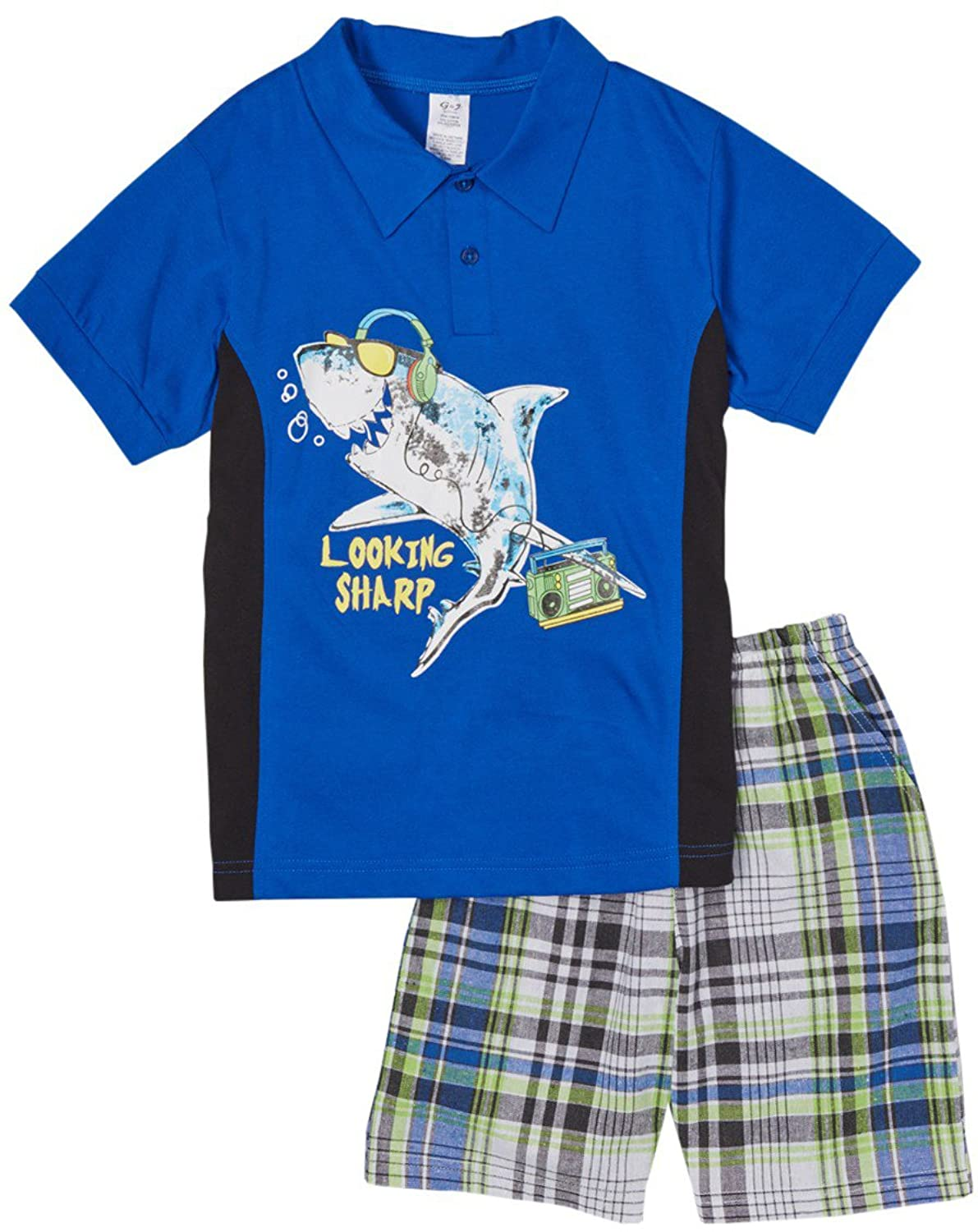 cheap ToBeInStyle Boy's Polo Shirt and Shorts Set for sale