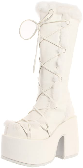 eccb3330ce27e Pleaser Women's Camel-311/W/PU Knee-High Boot
