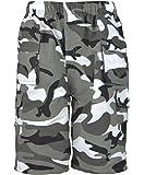 lotmart pour Enfants Uni & Camouflage Poches Multiples Short armée Garçon Imprimé Cargo Combat & Cadeau Gratuit lotmart Stylo par Colis