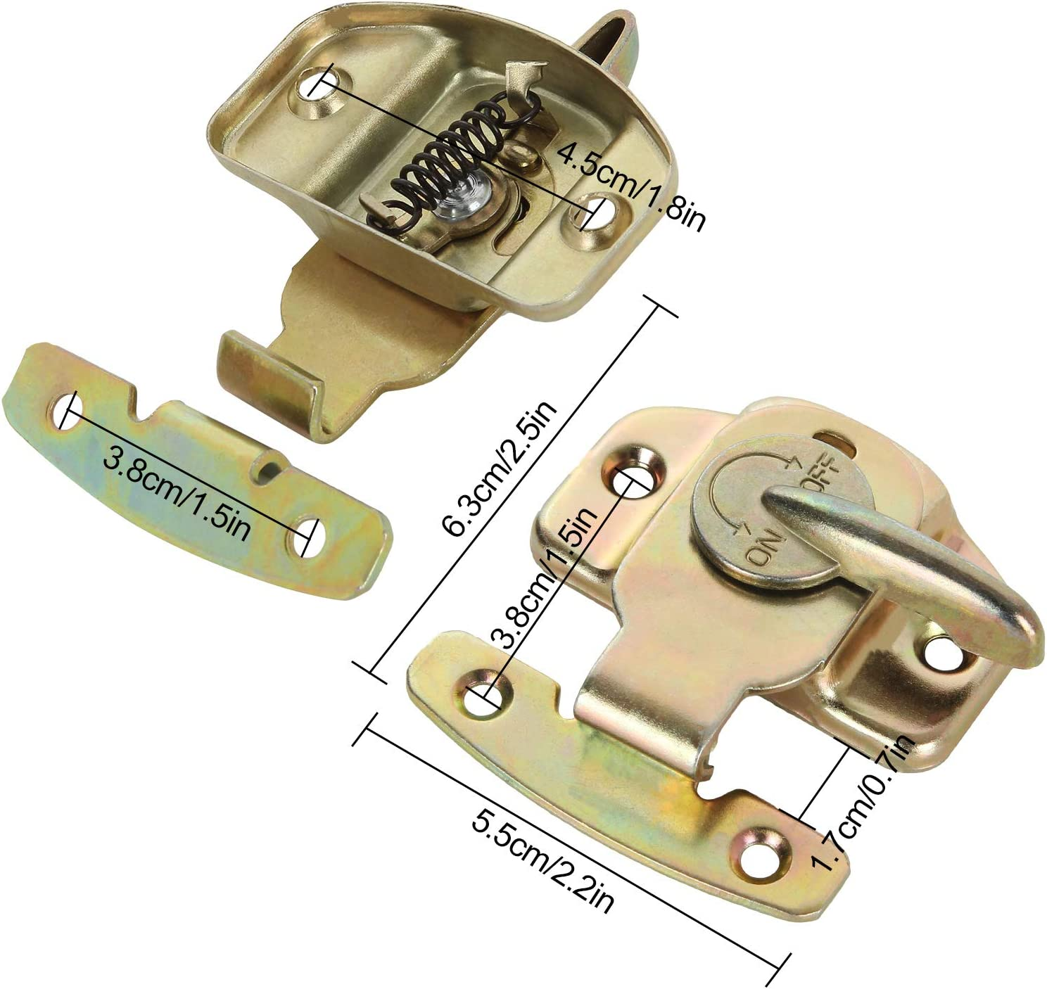 Abuff Heavy Duty Dining Training Table Buckles Connectors Great for Table Leaf 12 Sets of Align-N-Lock Table Locks Computer Workstations and Conference Tables Extension Tables