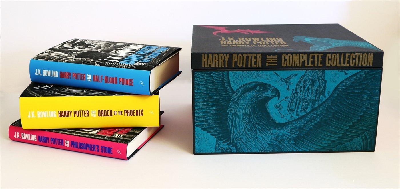 H P Adult Hardback Box Set: Contains: Philosophers Stone ...
