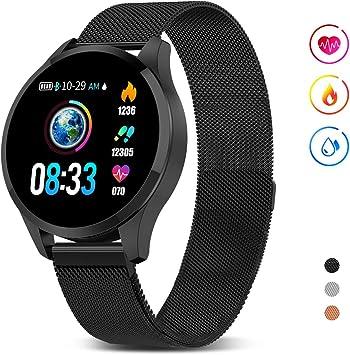 GOKOO Smartwatch Mujer Hombre, Impermeable Reloj Inteligente ...