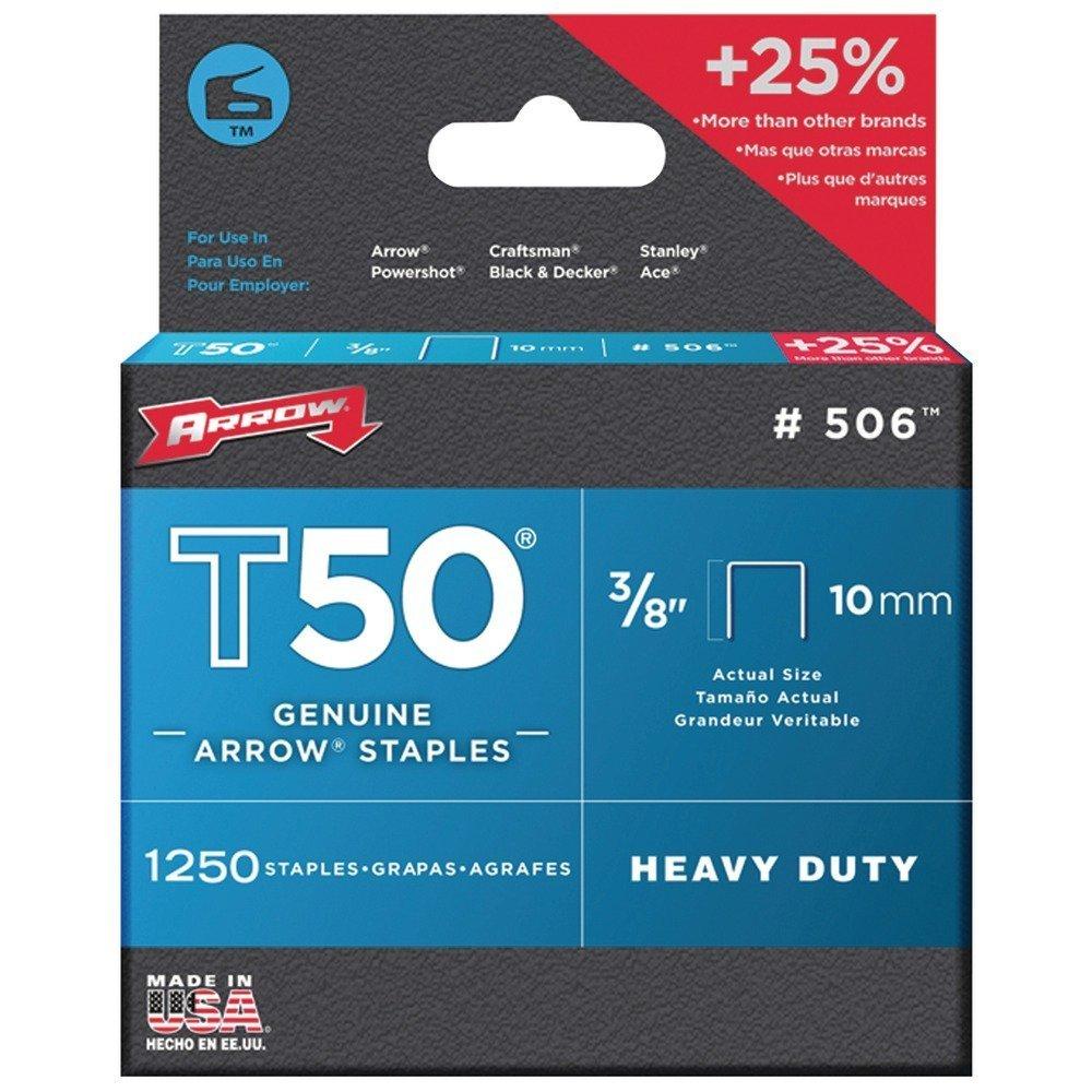 Arrows 506 T50 Staples (4)