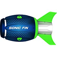 Aerobie Sonic Fin Aerodynamic High Performance Outdoor Football for Kids & Adults, Blue