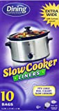 Dining Collection DB06802 Crock Pot Liners, 1 Pack, Clear