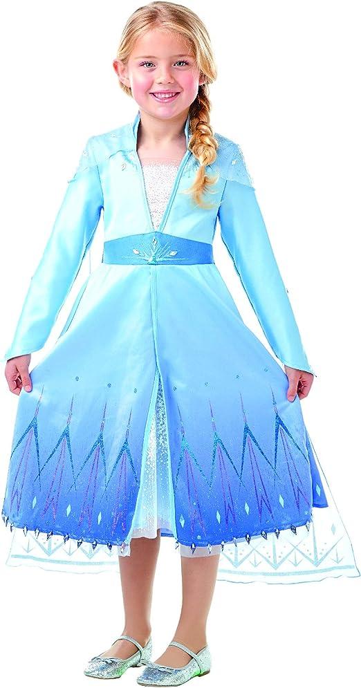 Frozen 2 Premium Disfraz Elsa Travel, M, Multicolor, (RubieS 300464-M): Amazon.es: Juguetes y juegos