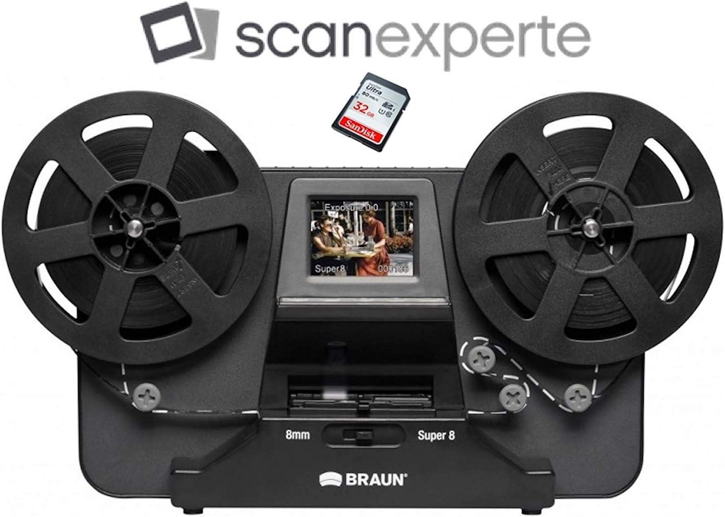 scanexp NTG Puro de 3 – 3000 m de m Reflecta escáner de película ...
