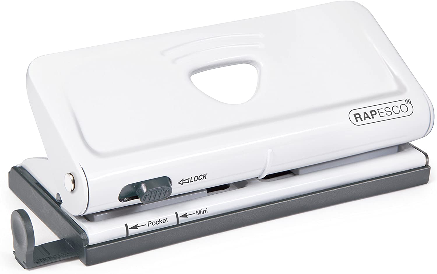 Rapesco Adjustable, 6 Hole Paper Punches (1321)