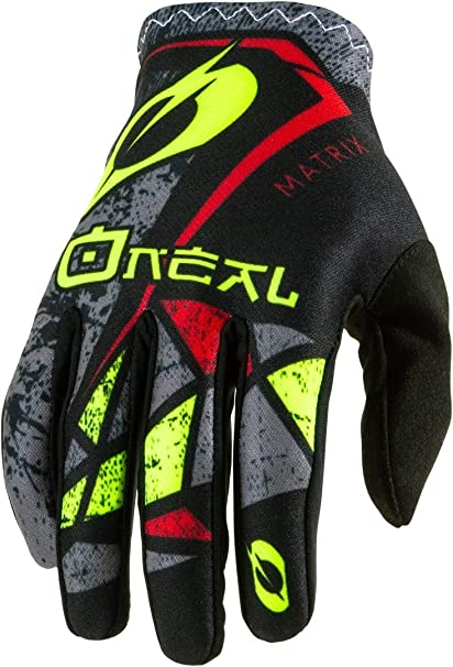 ONeal Matrix Glove Guantes para Bicicleta, Mb, Descenso, Dh y Mx ...