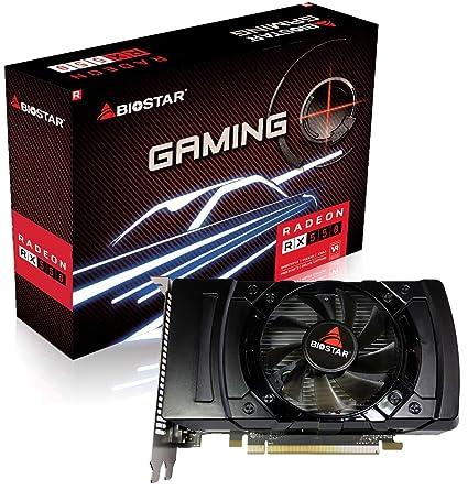 Biostar AMD Radeon Gaming RX 550 2GB GDDR5 128-Bit DirectX 12 PCI