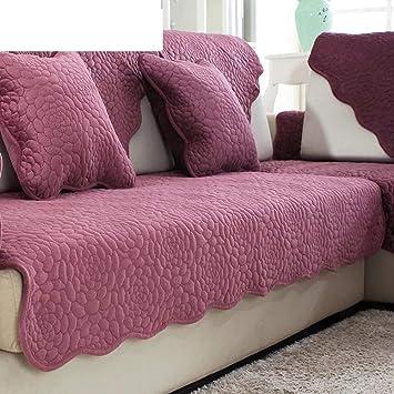 FERZA Home Cojines de sofá Tela de Felpa de Invierno Toalla ...