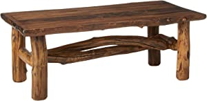 Mountain Woods Furniture Aspen Grizzly Collection Coffee Table, Bronze Aspen Finish