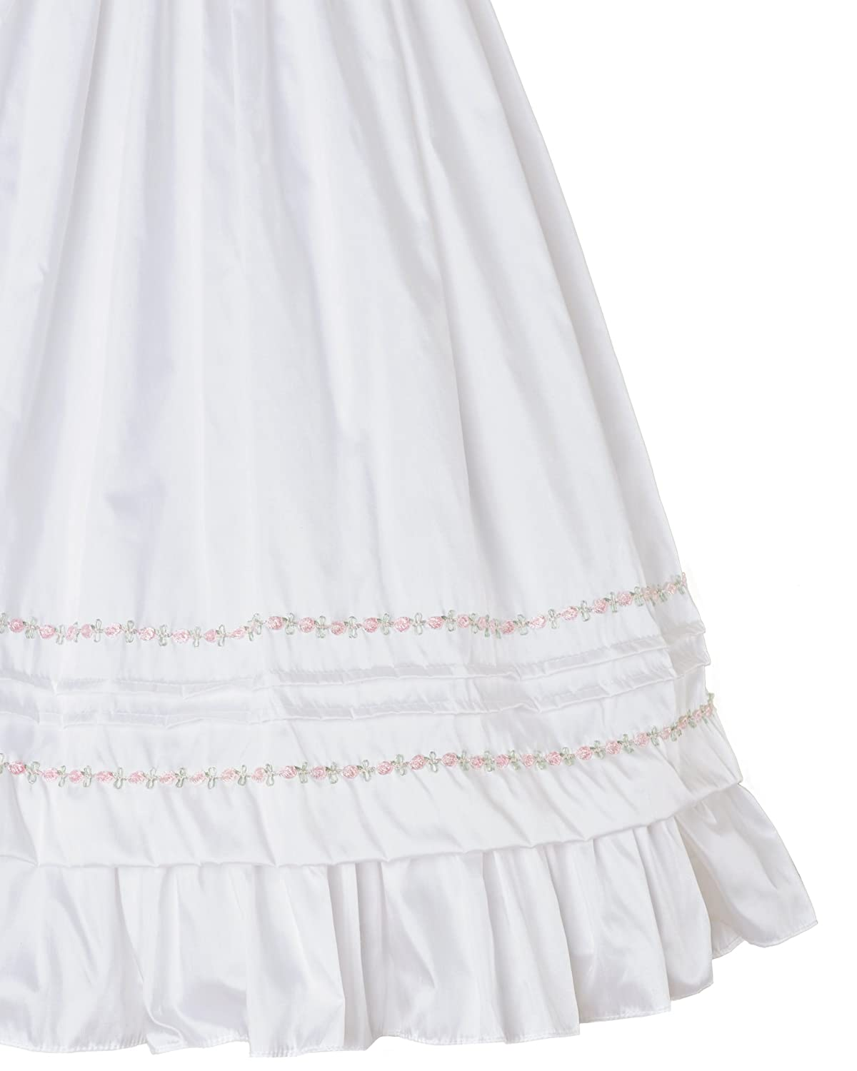 Amazon.com: Jessa Heirloom Silk Christening Baptism Gown for Girls, Made in USA: Clothing