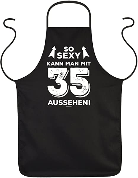 35th Birthday Gift Apron So Sexy Man With 35 Might Design Years For Year Old Amazoncouk Kitchen Home